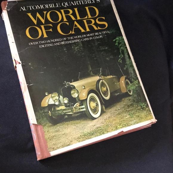 VTG Automobile Quarterly's WORLD of CARS book~1971